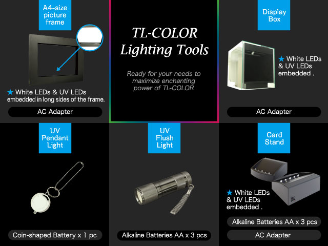 TL-COLOR Lighting Tools